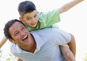 Amistad padres e hijos