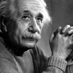 Pensamientos de Albert Einstein.