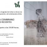 NUEVA EXPOSICIÓN: ROSINA CEMBRANO PERASSO