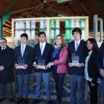 Estudiantes de enseñanza media de Coelemu ganan importante concurso Nacional de reciclaje e innovación.