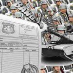 ¿Fraudes en el Ejército?