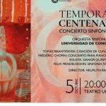 Corcudec: 7° Concierto Sinfónico Temporada Centenario