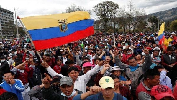 Ecuador, un pueblo que protesta… Levantamiento indígena 2019