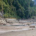 El Lago Chapo: gravemente dañado
