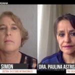 Diálogo ciudadano con Jeanne W. Simon Rodgers y Paulina Astroza Suárez