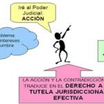 La acción procesal